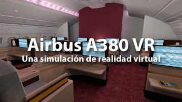 Airbus A380 VR