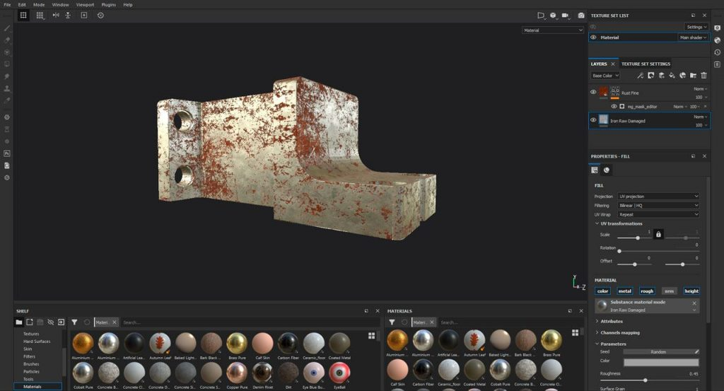 Cómo exportar texturas de Substance Painter a Blender EEVE 001