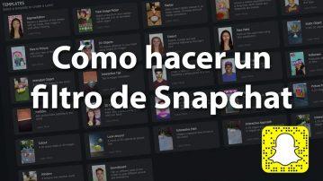 Como hacer un filtro de Snapchar