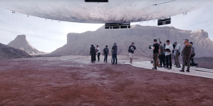 Escenario led en The Mandalorian