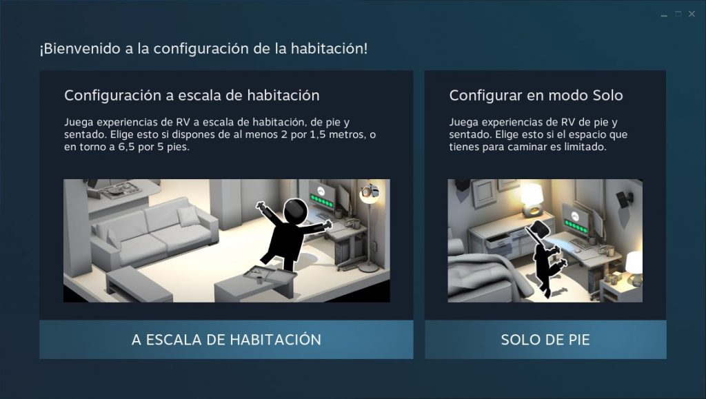 Instalacion de HTC VIVE en steam