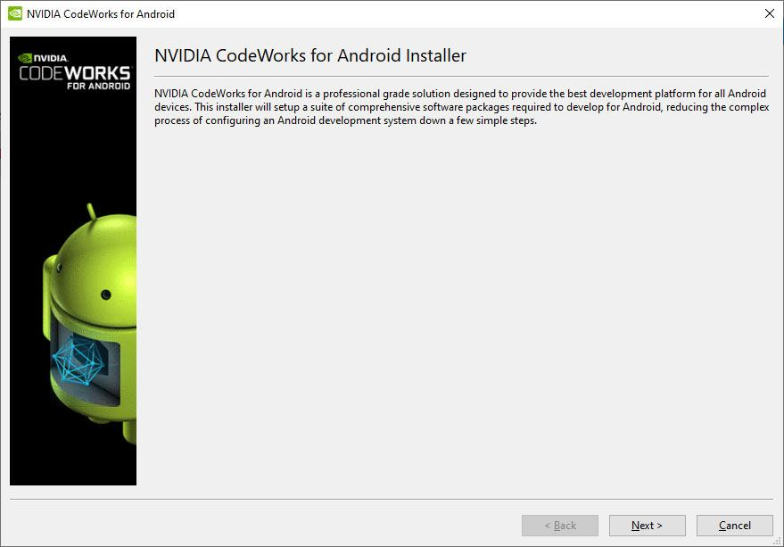 Instalador de CodeWorks for Android