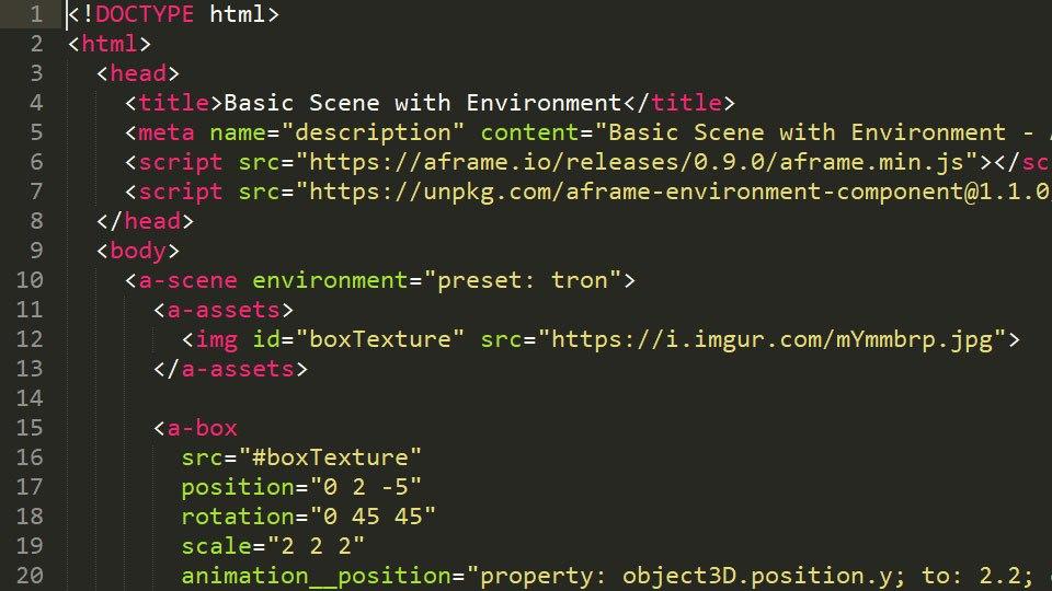 codigo abierto en WebVR